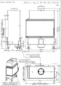 Romotop Heat 2G S 70.44.33.13 (23) méretei